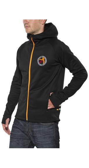 ÖTILLÖ Powerstretch - Sudadera con capucha - negro